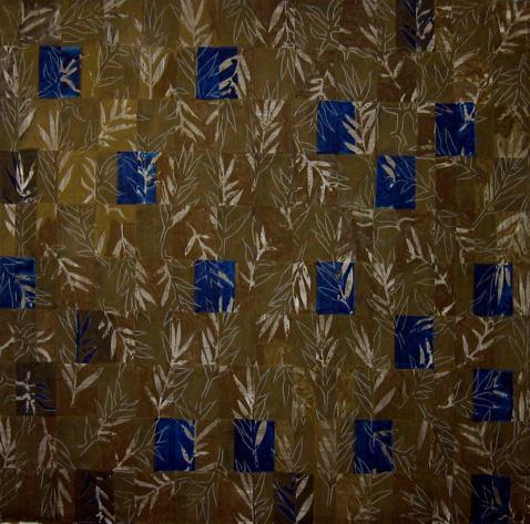 Jean Michel Meurice - Tuscania 16, 1990, 200 x 200 cm, acrylique sur toile