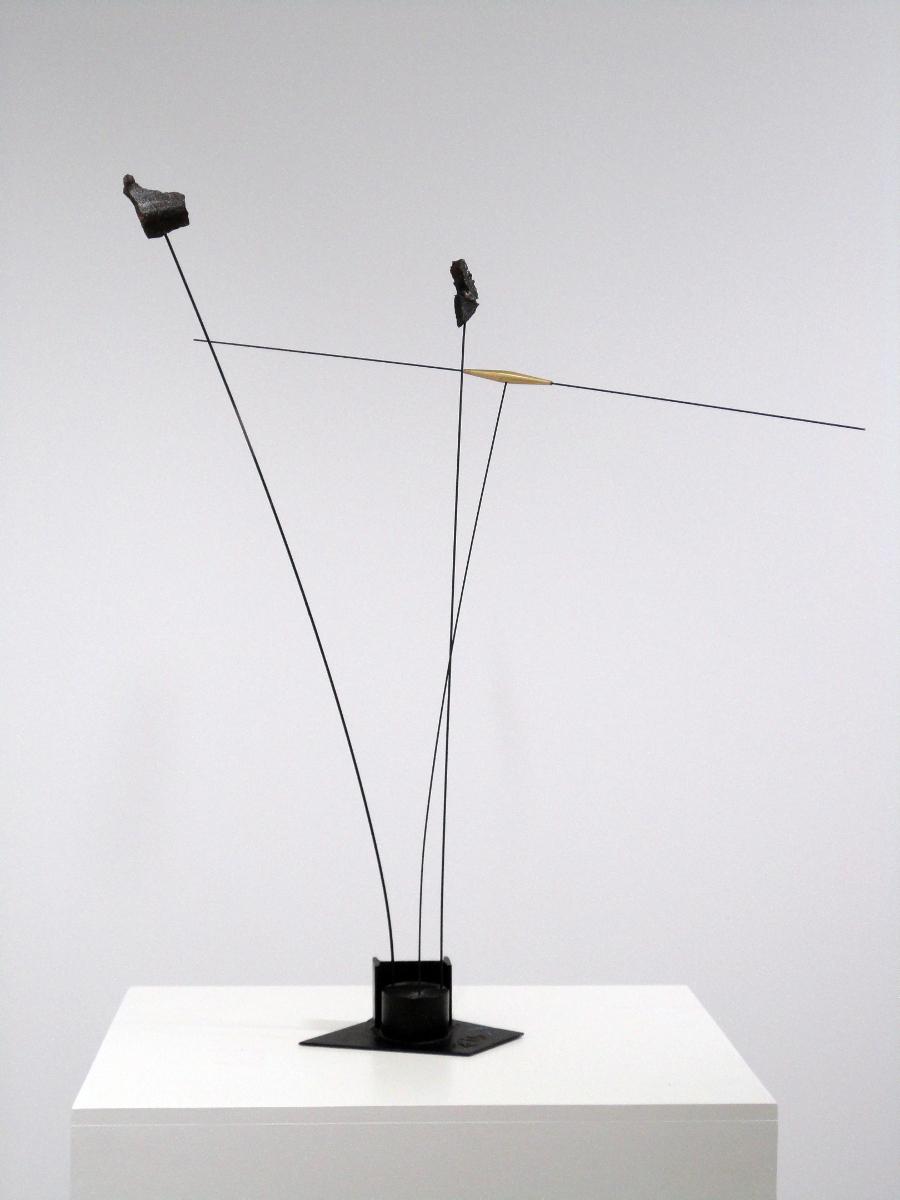 Sans titre (2010), hierro, 88 x 82 x 85 cm